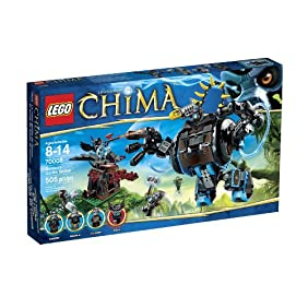 Lego, Legends of Chima, Gorzan's Gorilla Striker (70008)