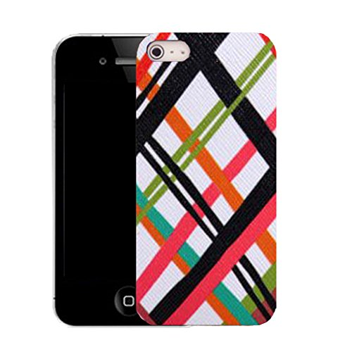 Mobile Case Mate IPhone 4s clip on Silicone Coque couverture case cover Pare-chocs + STYLET - kris kross pattern (SILICON)