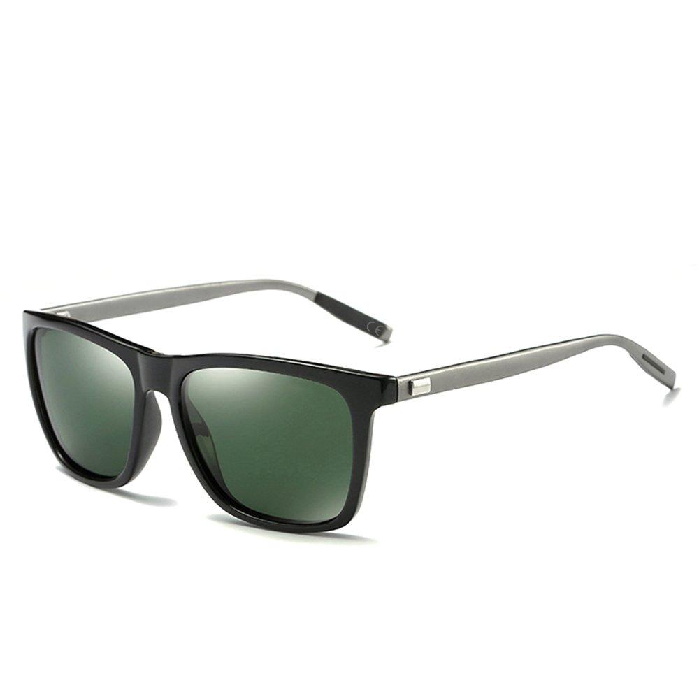 BVAGSS Polarisierte Sonnenbrille Retro Vintage Unisex Brille Mit Für Herren Und Damen 100% UV 400 Schutz (Brown Frame With Brown Lens) cmkKMM7GT
