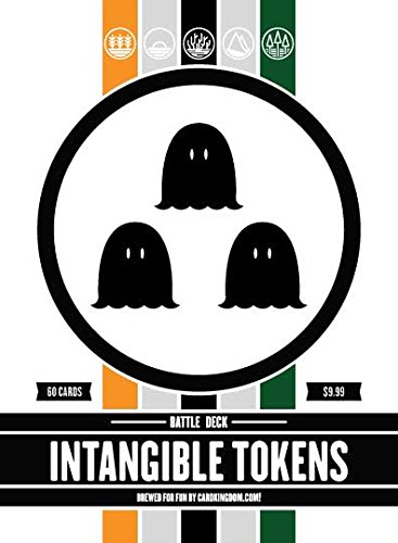 Magic: The Gathering Intangible Tokens Battle Deck MTG Preconstructed White Black Green Deck. 60 Cards. ()