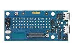 Intel Edison Breakout Board Kit [Dual Core Intel Atom IA-32 500MHz, 4GB eMMC Storage, Bluetooth 4.0, WiFi Enabled]