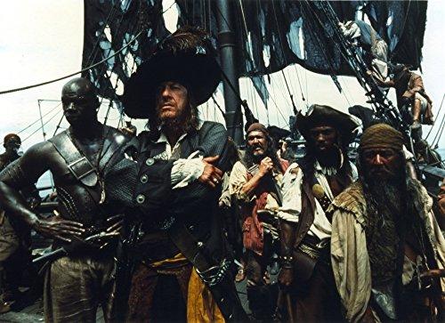 Geoffrey Rush as Hector Barbossa Photo Print (30 x 24)]()
