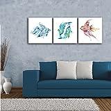 Gardenia Art - Animal World Series Blue, Green and