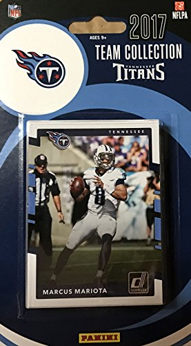 Tennessee Titans 2017 Donruss Factory Sealed Team Set with Marcus Mariota, Eddie George, DeMarco Murray, Adoree' Jackson Rookie Card plus ()