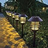 HGTV Home 8 Piece LED Solar Pathway Lights