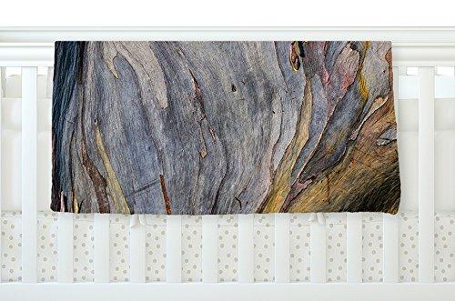 KESS InHouse Susan Sanders ''Milky Wood'' Gray Brown Fleece Baby Blanket, 40'' x 30''