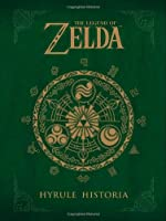 The Legend of Zelda: Hyrule Historia Front Cover
