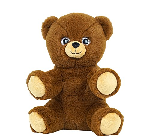 Adorable recordable teddy bear with 20 second digital recorder for voice messages