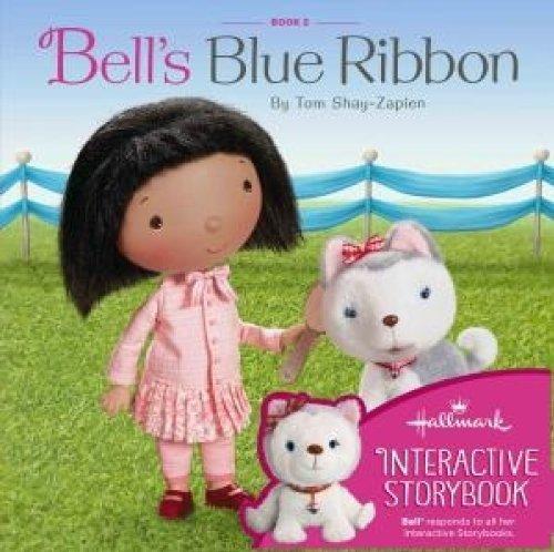 Hallmark Interactive Story Buddy Book Bell's Blue Ribbon