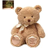 Gund My First Teddy Bear Stuffed Animal, 15 inches and Premium Greeting Card by Kimberly Anderson Collection - Bundle 2 Items