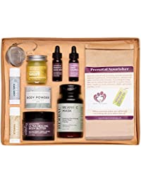 Naturally Beautiful Pregnancy Gift Set, Apothecary Skin...