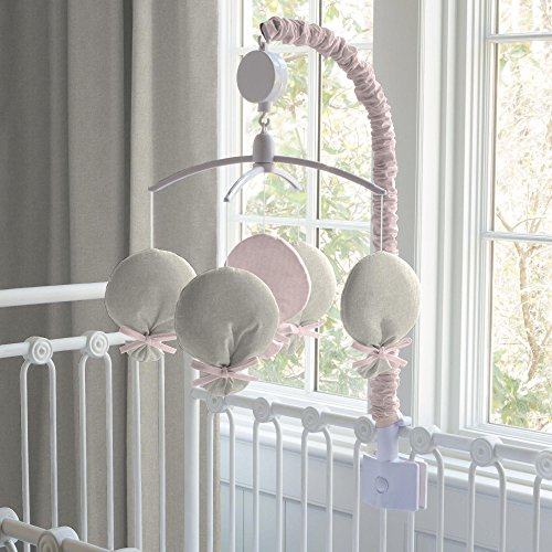 Carousel Designs Light Pink Linen Mobile by Carousel Designs