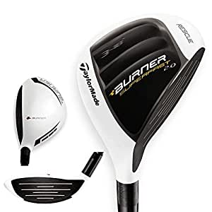 TaylorMade Burner Super Fast 2.0 Rescue Golf Hybrid Club, Right Hand, Graphite, 4, Regular