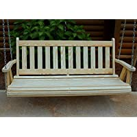 MISSION Amish Heavy Duty 800 Lb 5ft. Porch Swing- Made in USA