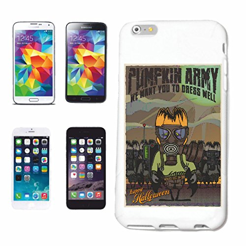 "cas de téléphone iPhone 6+ Plus ""HEUREUX HALLOWEEN PUMPKIN MASQUE RESPIRATOIRE ARMY FIGHTERS HALLOWEEN CITROUILLE Octobre Walpurgisnacht FRÖHLICH SAD GOTHIC"" Hard Case Cover Téléphone Covers Smart Cov"