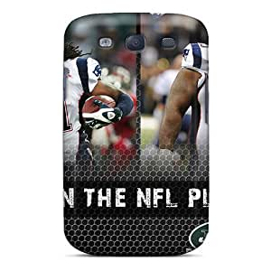 Galaxy S3 Case, Premium Protective Case With Awesome Look - New England Patriots