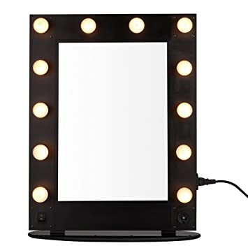 Amazon.com: unho Hollywood Lighted Make-up Vanity Back Stage ...