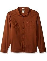 Men's Morphe Long Sleeve Stretch Twill Shirt