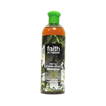 c2ffcff577d143 Amazon.com   Faith in Nature - Hemp   Meadowfoam Shampoo - 400ml ...