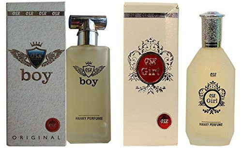 Osr Tommy Boy & Girl Spray Perfume For Unisex Pack Of 2(Each 40 Ml)