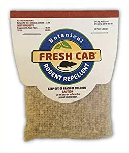Amazon.com : Fresh Cab Rodent Repellent (6 pouches