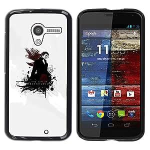 YiPhone /// Prima de resorte delgada de la cubierta del caso de Shell Armor - The Son Of Destruction - Motorola Moto X 1 1st GEN I XT1058 XT1053 XT1052 XT1056 XT1060 XT1055