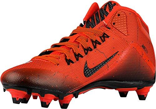Nike Herren Alpha Pro 2 Fußballschuh Team Orange / Schwarz / Schwarz