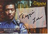 Grimm Autograph Card RLAC-1 Signed by in Black Pen by Reggie Lee as Sergeant Wu