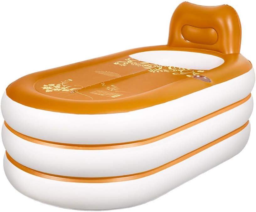 子供の膨脹可能な浴槽、膨脹可能な温水浴槽、プールおよび旅行のためのクッションが付いている滑り止めのFoldableおよびポータブル、赤ん坊の浴槽、最もよいギフト