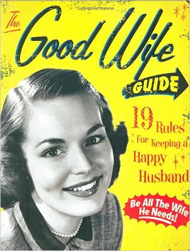 Guide to being a good housewife 1950