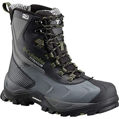Columbia Powderhouse Titanium Omni-Heat 3D Outdry Winter Boot - Men's Black/Mosstone, 8.0