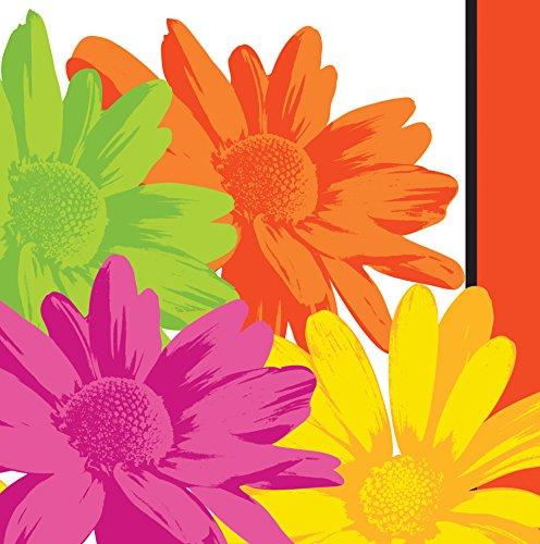 Creative Converting Napkins Floral Stripes