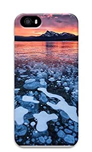 iPhone 5 5S Case landscapes nature ice lake 56 3D Custom iPhone 5 5S Case Cover
