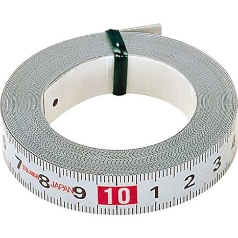 1 m x 13 mm Tajima PIT10 Auto-Adhesive Pit Measuring Tape White
