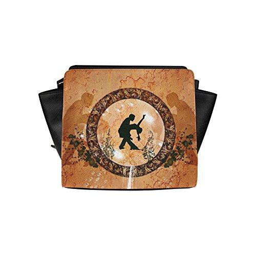 Fashion Design Dancing Satchel Bag (model 1635) Angelakochhappy