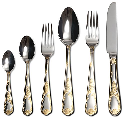 Collection Provenza Silverware Stainless Gold Plated product image