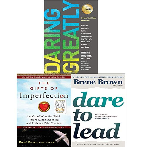 Brené Brown 3 Books Collection Set (Dare to Lead [Hardcover], Gifts of Imperfection, Daring Greatly)