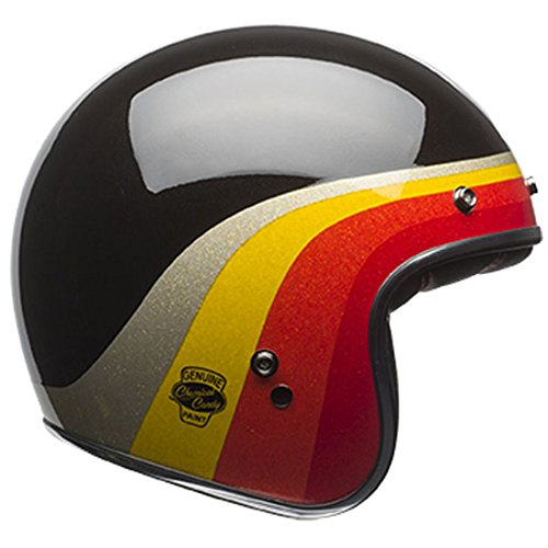 Bell Custom 500 LE Chemical Candy Black/Gold Open Face Helmet, - Face Helmets Bell Open