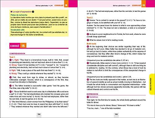 Annales Annabac 2016 Anglais Tle LV1 et LV2: sujets et corrigés du bac Terminale: Amazon.es: Jeanne-France Bignaux, Didier Hourquin: Libros en idiomas ...