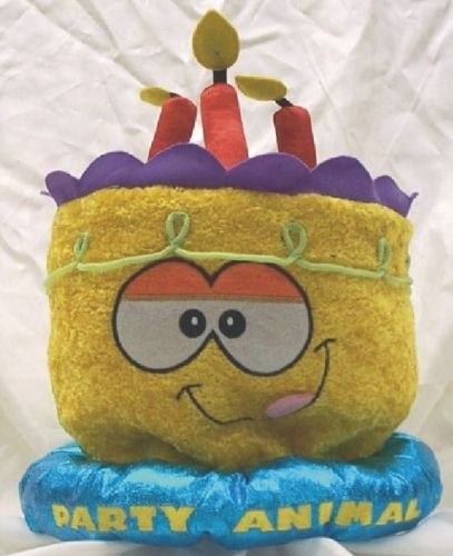 Party Animal Velvet Birthday Hat