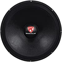 Rockville RVP18W4 1200 Watt 18 Raw Replacement DJ PA Subwoofer 4 Ohm Sub Woofer