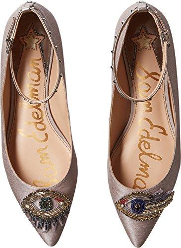 Sam Edelman Women's Rexley 2 Mary Jane Flat Grey Silk Dupioni/Eye Patch new styles ije4ys