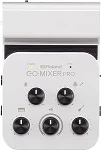 Roland GOMIXERPRO Professional-Quality Audio Mixer for Smartphones