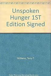 Unspoken Hunger 1ST Edition Signed