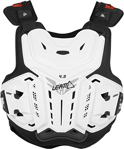 Leatt 4.5 Chest Protector (White, XX-Large)