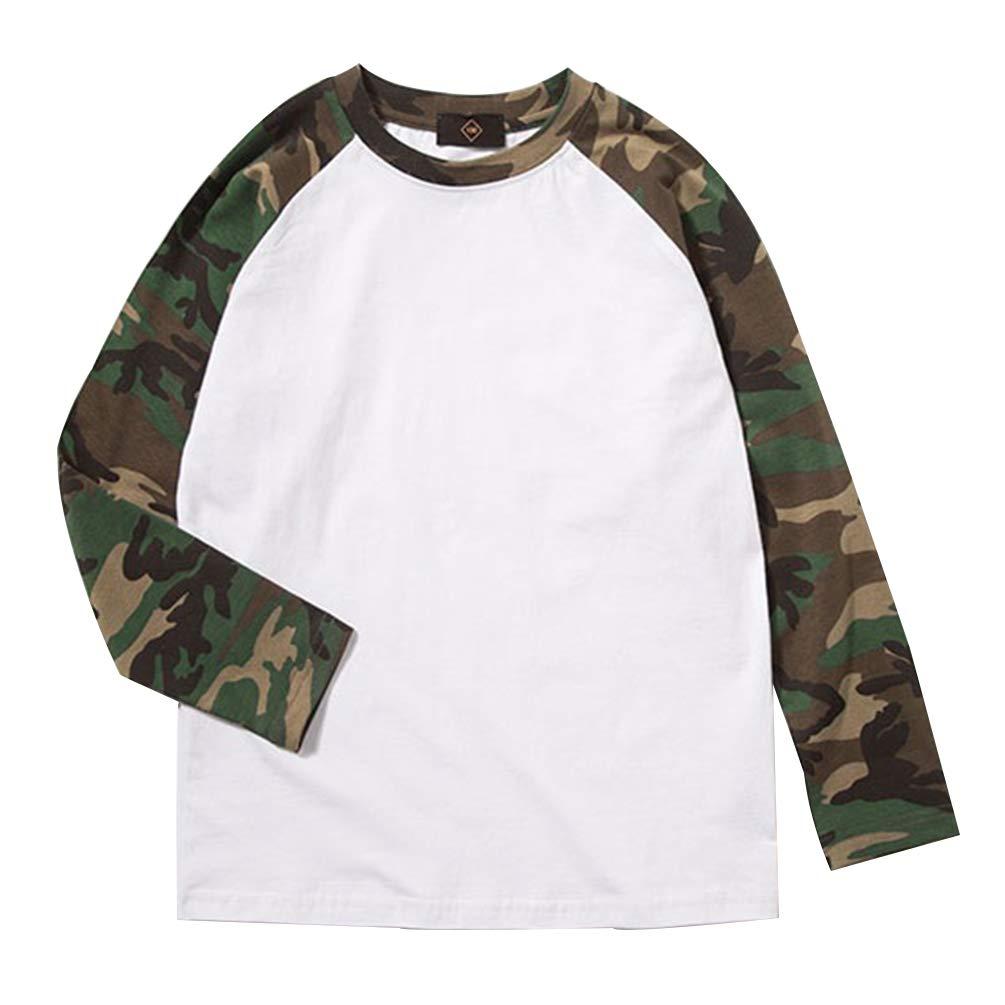Top a Maniche Corte. Leggeri ZipZappa Set da 2 Pezzi Stampa Mimetica Militare Pantaloncini e T-Shirt per Ragazzi Estate