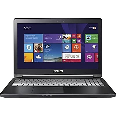"Asus Q551LN-BSI708 15.6"" 2-in-1 Notebook PC - Intel Core i7-5500U 2.4GHz 8GB 1TB DVDRW NVIDIA 2GB GT 840M Windows 8.1 (Certified Refurbished)"