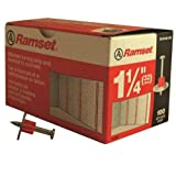 Ramset Powder Fastening Systems 1510SD 1-1/4-Inch Washered Pins, 100-Pack