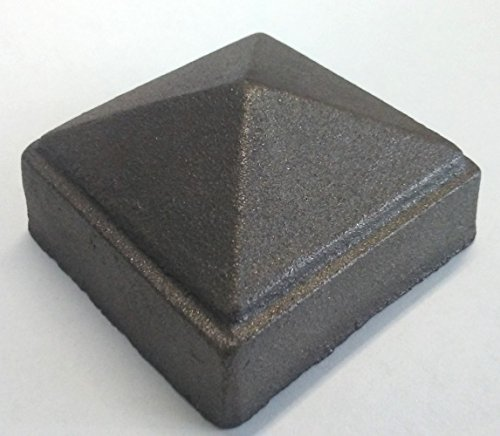 Cast Iron Post Caps (Cast Iron Pyramid Post Cap fits 2