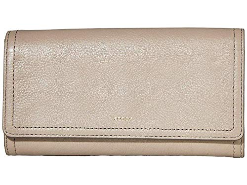 Fossil Logan RFID Flap Clutch Light Taupe by Fossil